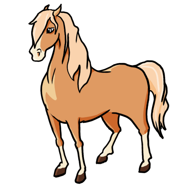 Cartoon Characters You Can Draw : Horse cartoon characters clipart best