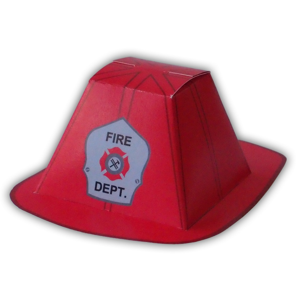 printable fireman hat template clipart best