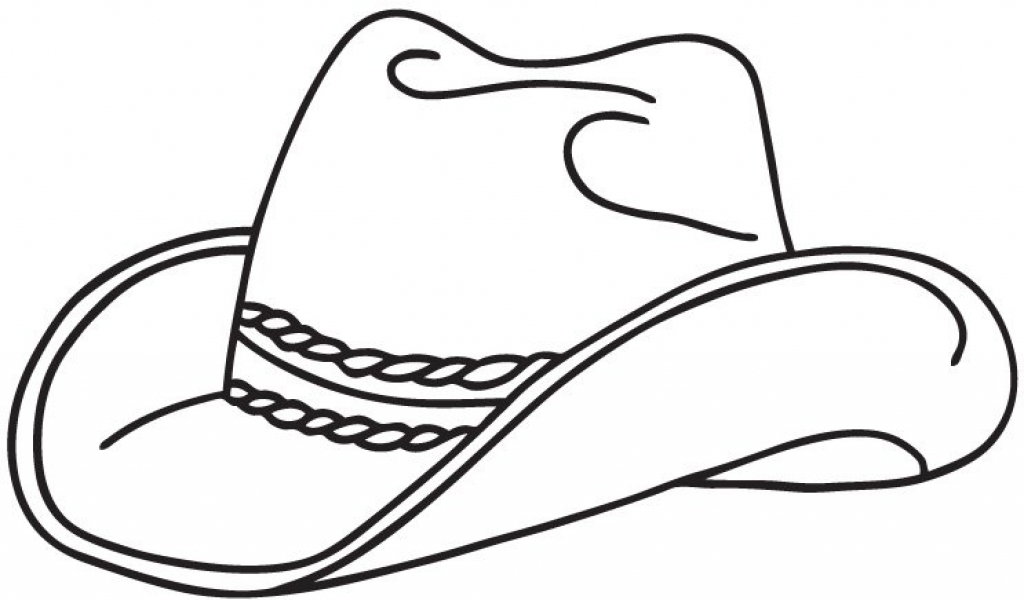 Cowboy Boots Coloring Page ClipArt