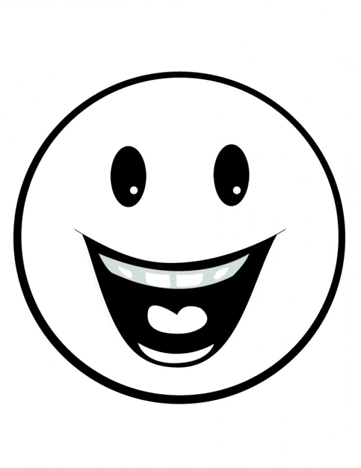 One Line Art Smiley : Line drawing smiley faces clip art clipart best