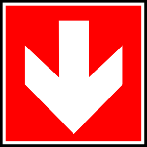 Red Arrow Down - ClipArt Best
