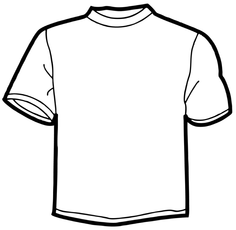 Paper t shirt template clipart best for Design at shirt template
