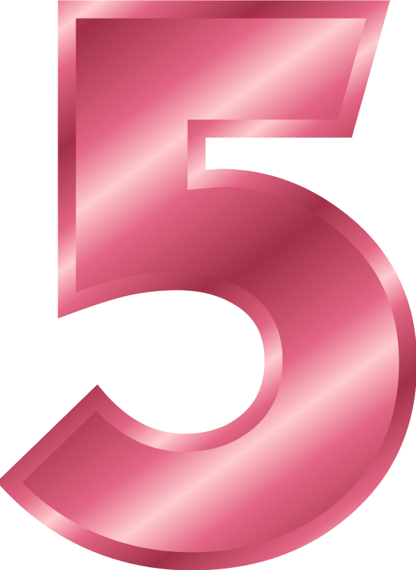 Number 5 - vector Clip Art - ClipArt Best - ClipArt Best