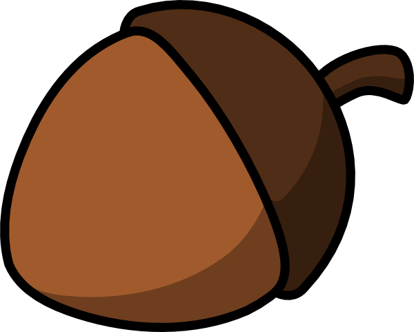 Picture Of An Acorn Nut - ClipArt Best