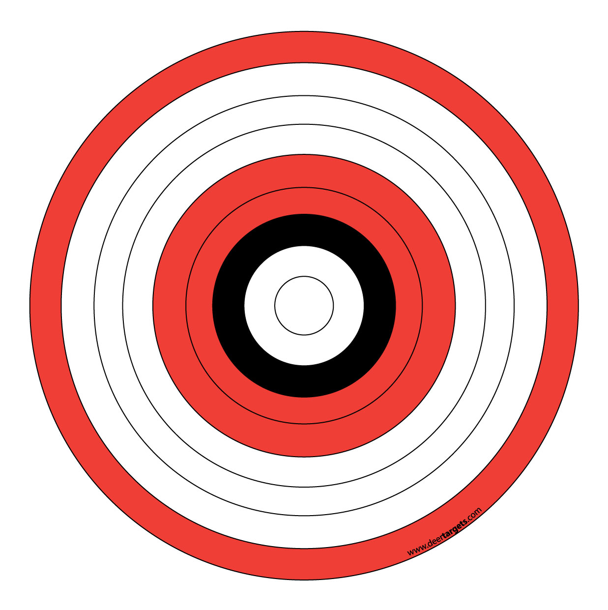 It's just a picture of Légend Printable Archery Targets