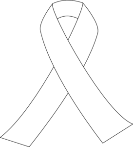 White Ribbon clip art - vector clip art online, royalty free ...