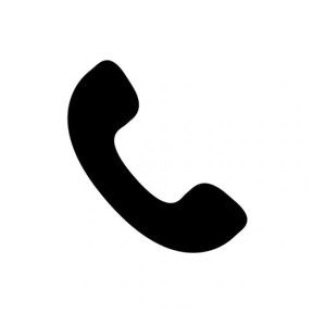 auricular phone - icon