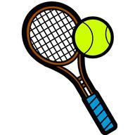 Clip Art Tennis Clipart Best Clipart Best