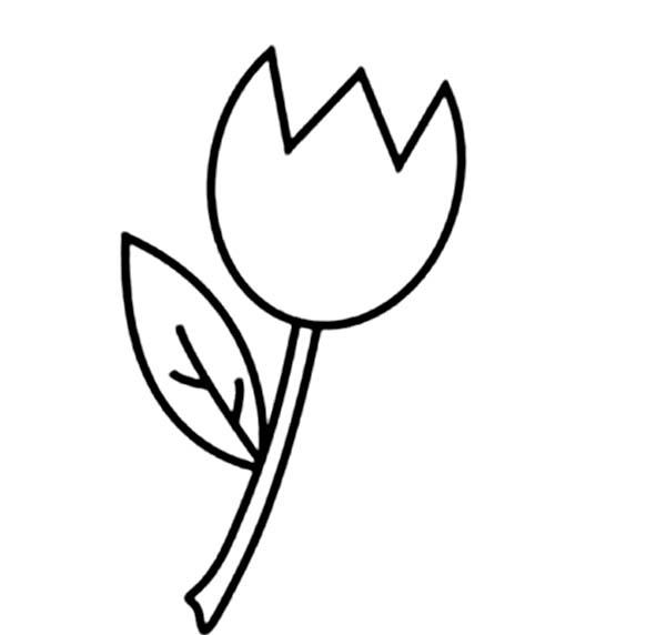 foto de Large Printable Tulips ClipArt Best