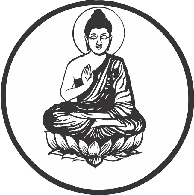 Lord buddha clipart for mobile - ClipartFox