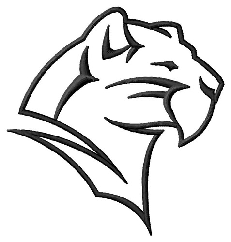 Panther Drawing Outline Clipart Best