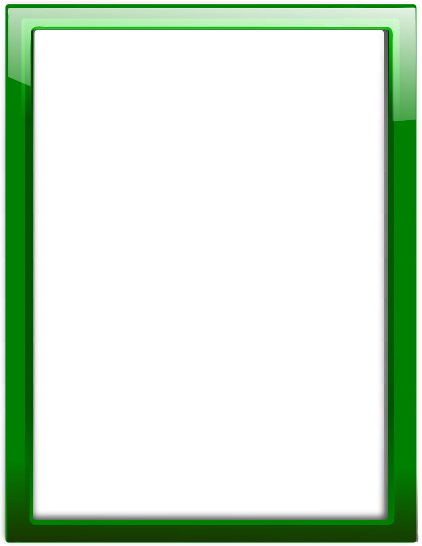 Green Page Borders Clipart Best