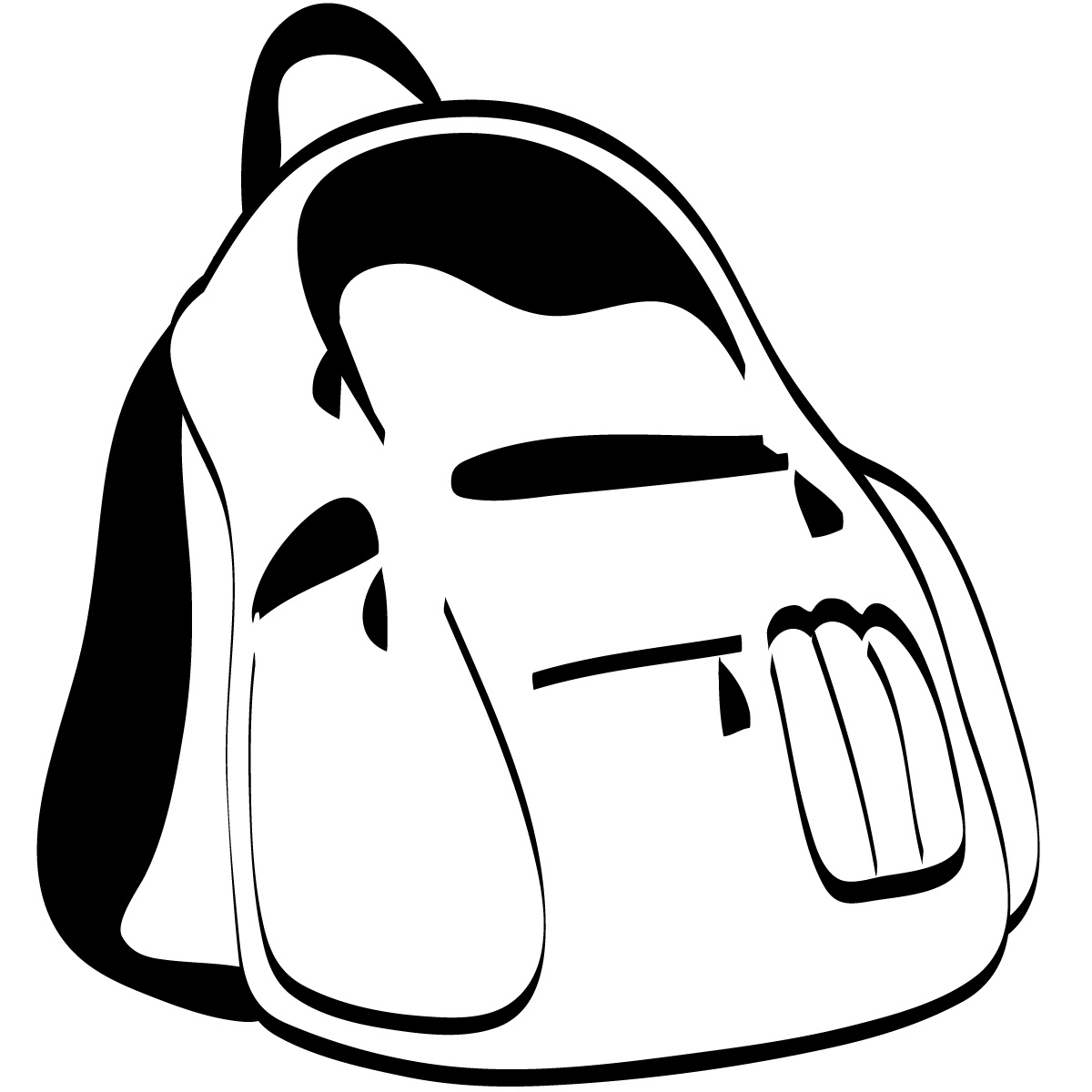 Backpack Coloring Page - Free Clipart Images