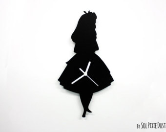 Alice silhouette | Etsy