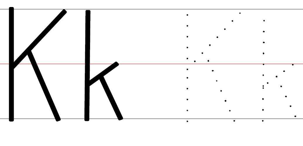 Letter K Tracing Page - ClipArt Best