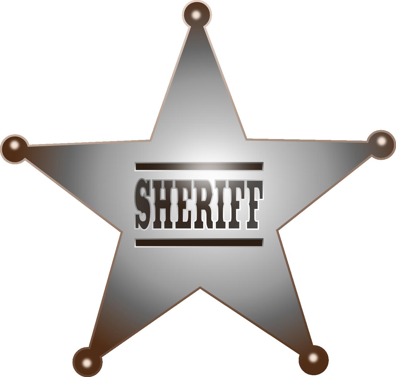 Clip Art: Sheriff Star September 2011 Clip Art ...