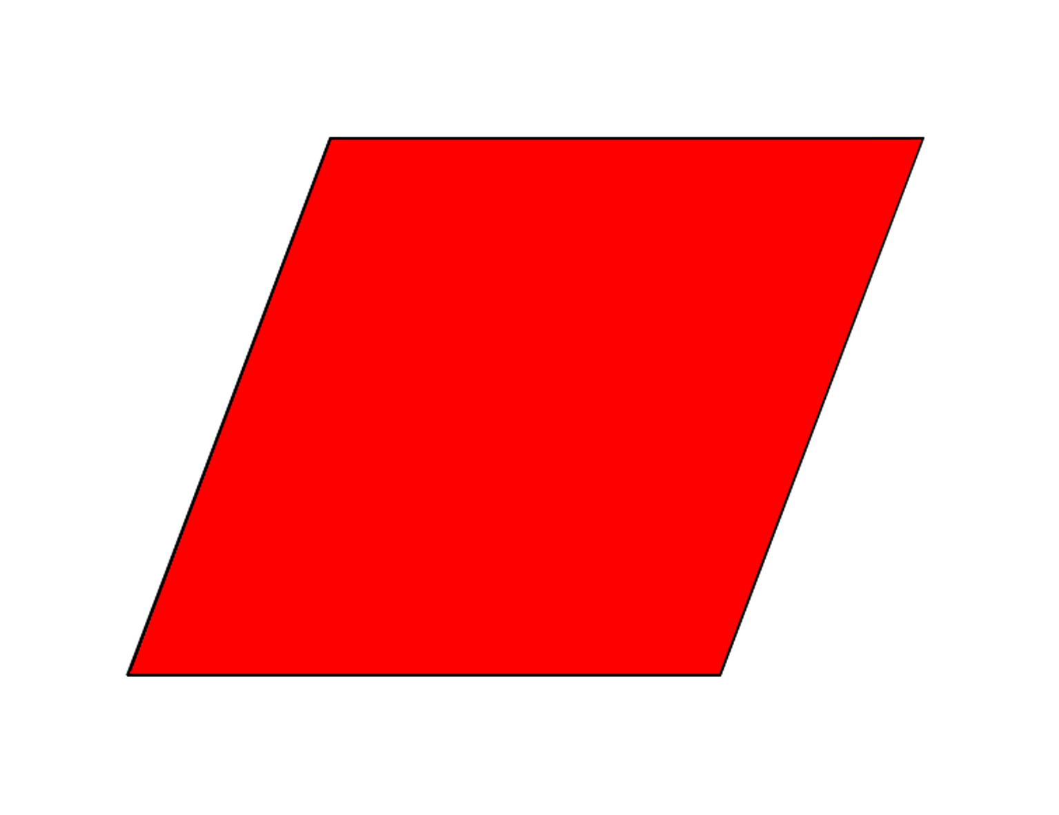 parallelogram clip art - photo #1