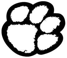 White Tiger Paw Print Clipart Best