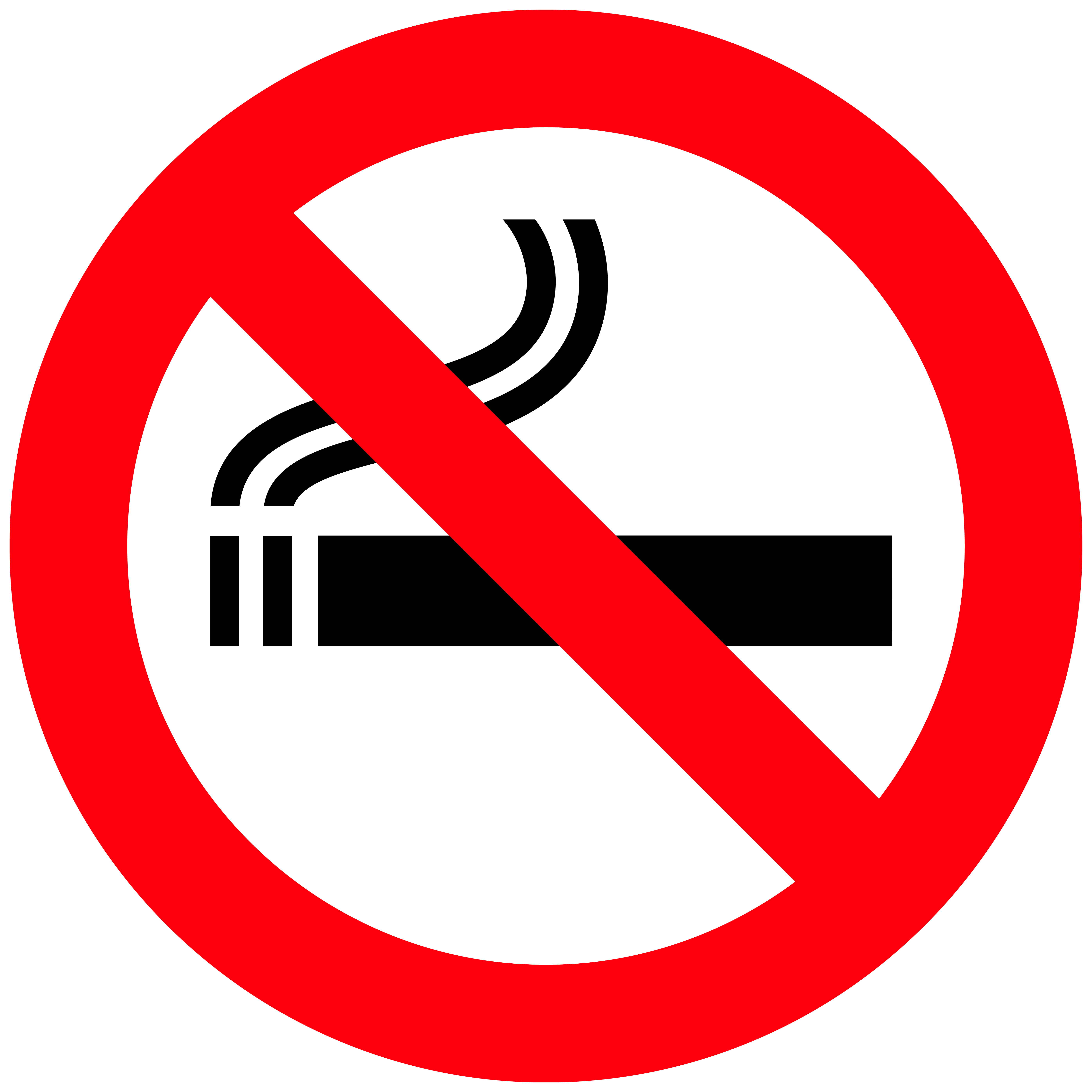 No smoke signs clipart best - Logo interdiction de fumer ...