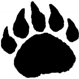 Bear Paw Art - ClipArt Best