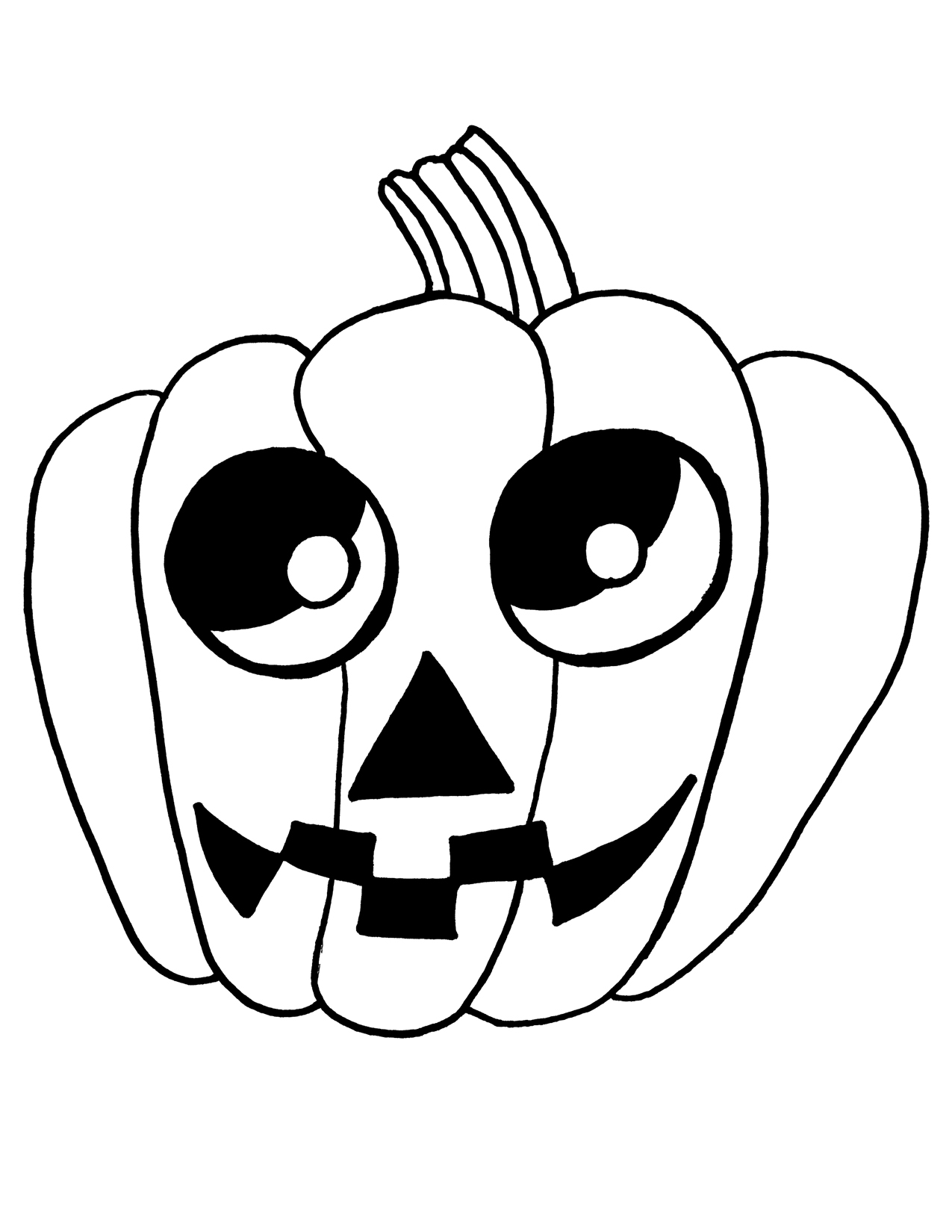 Halloween Line Drawings ClipArt Best