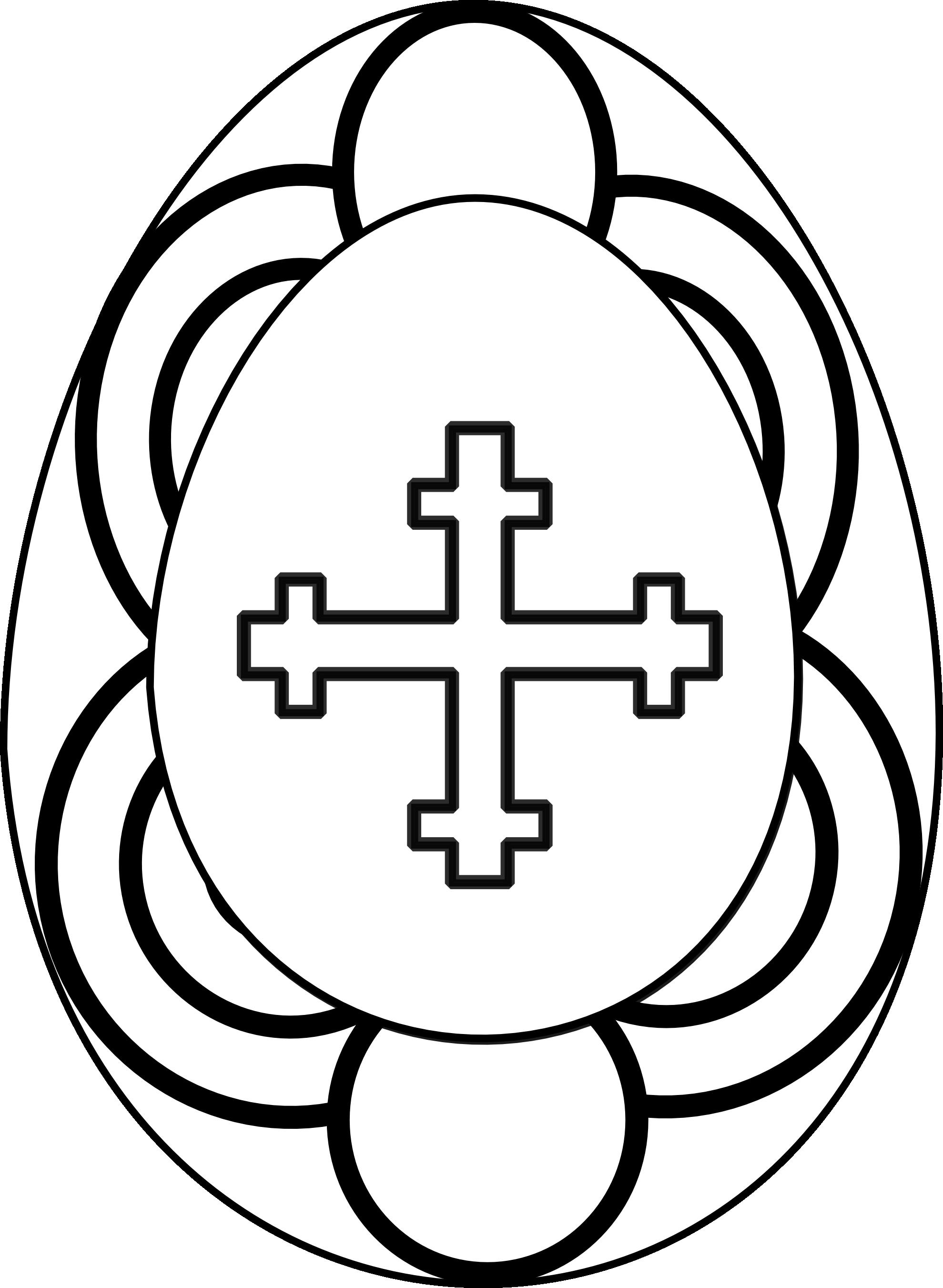 Easter Black & White Clipart Christian - ClipArt Best Easter Clipart Free Black And White