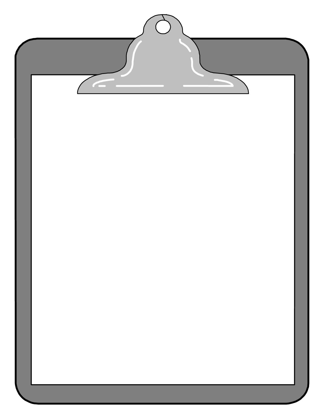clipboard template