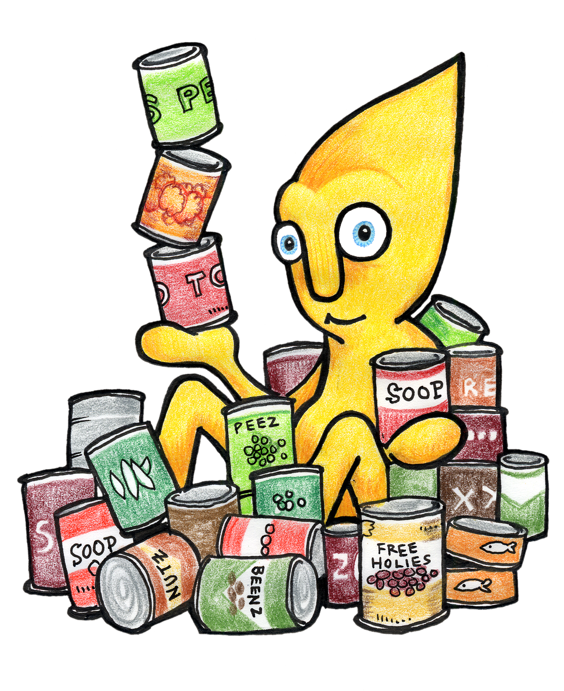Canned Food Drive Posters - Free Clipart Images