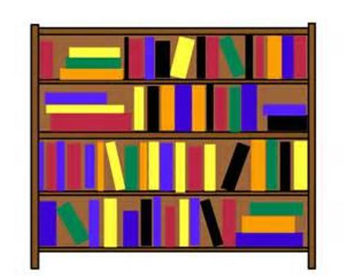 Bookcase Clipart Craft Projects School Clipart