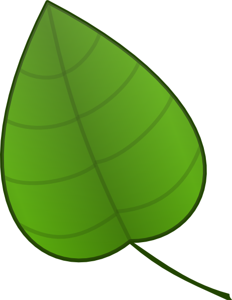 Single Palm Leaf Clipart