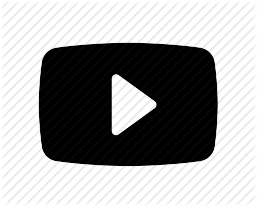 Youtube Play Icon Clipart
