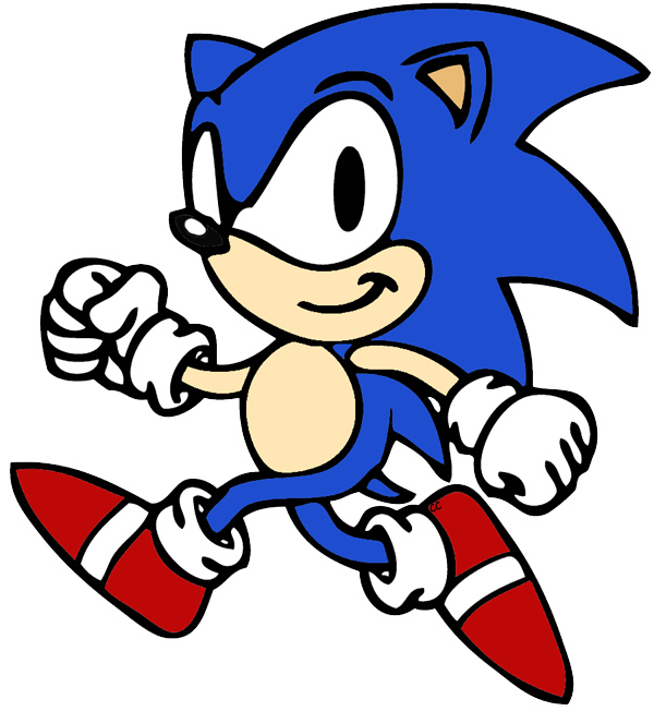 Sonic the Hedgehog Clip Art Images - Cartoon Clip Art