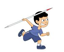 long jump track meet clipart