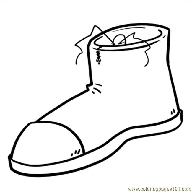 free coloring dutch shoe pages - photo#19