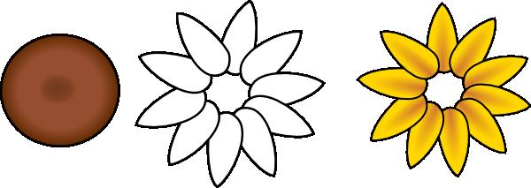 Six Flowers Template - ClipArt Best