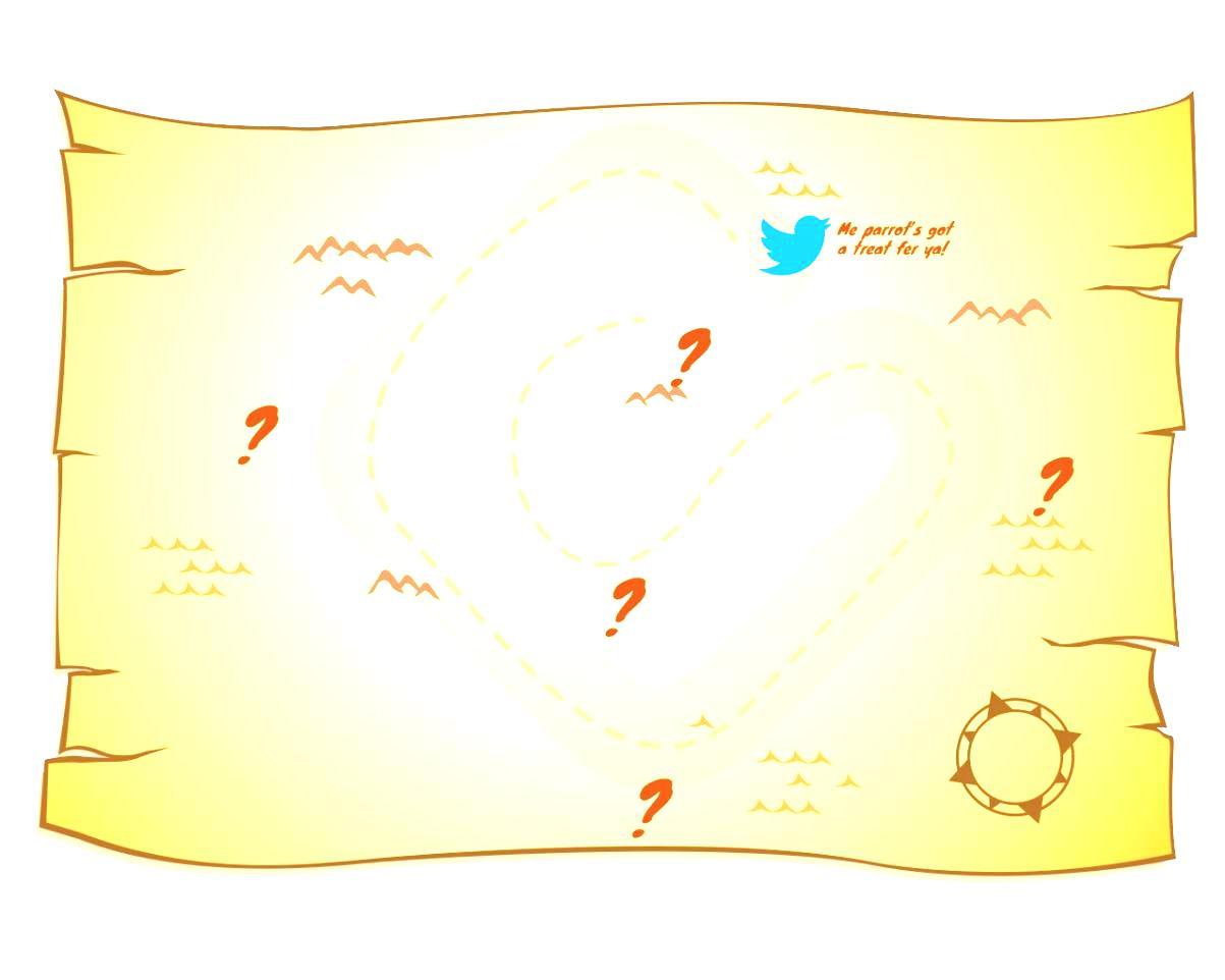 Treasure Map Border - ClipArt Best