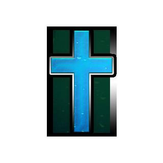 christian cross clip art blue - photo #16