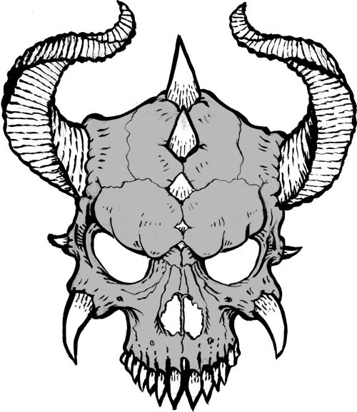 Cool Skull Drawing - ClipArt Best