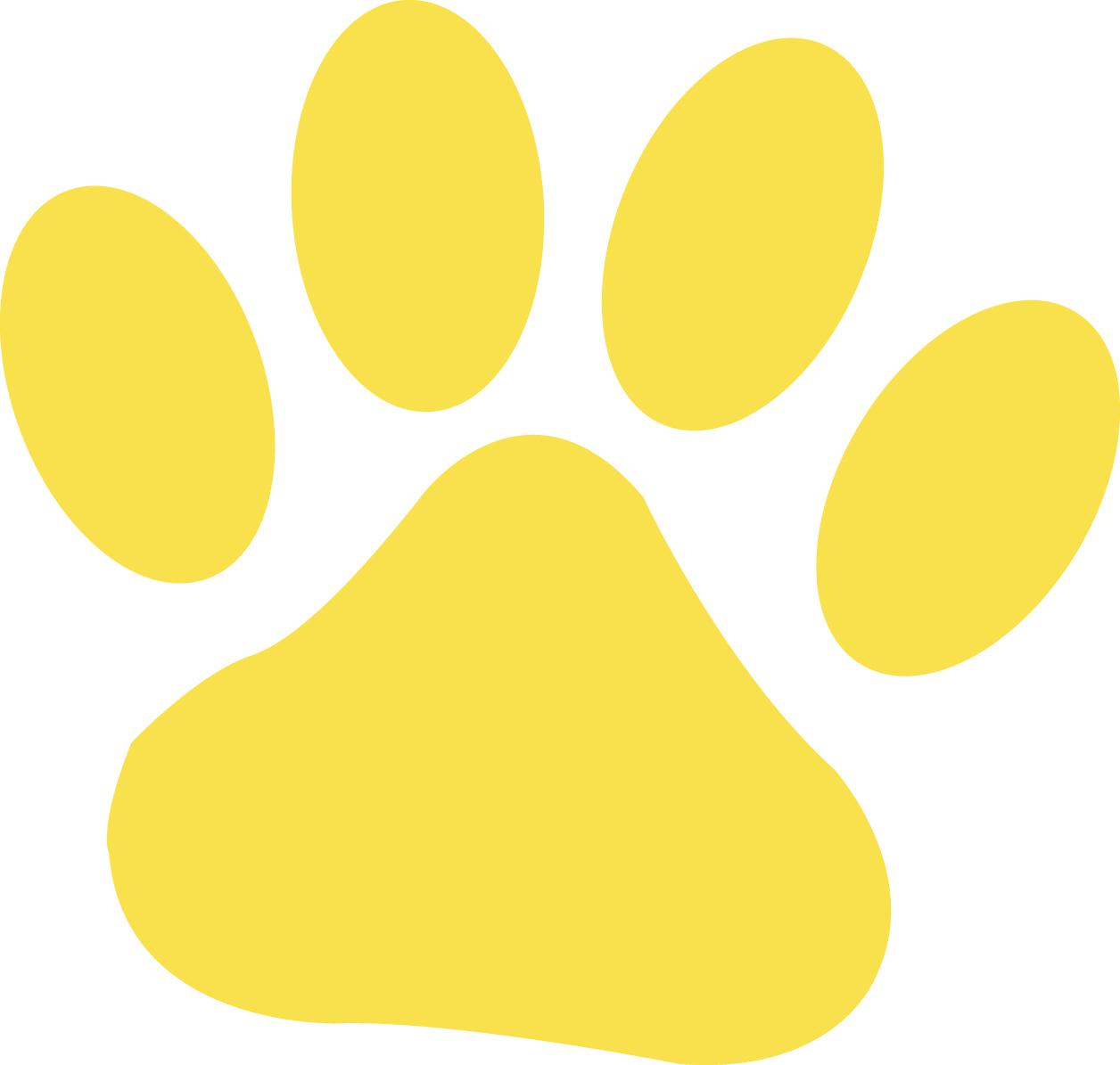 Dog Paw Print - ClipArt Best