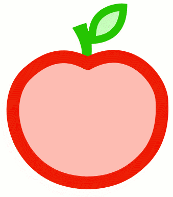 Apple Outline Clip Art Apple outline clip art