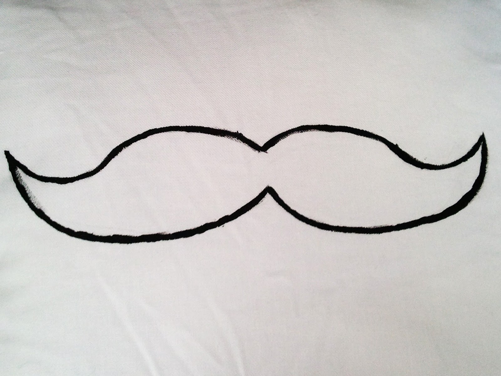 Mustache outlineMustache Outline
