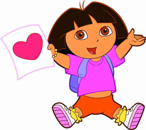 Clipart For Free: Dora The Explorer Clipart | We Heart It