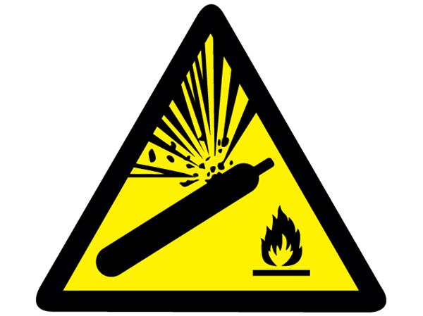 Warning Symbol Label