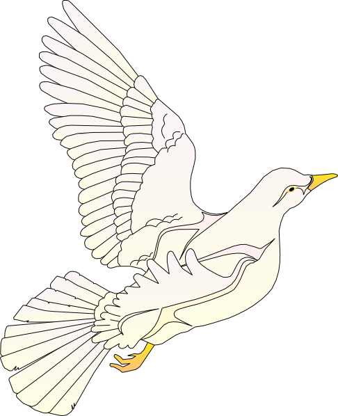 Doves Flying - ClipArt Best