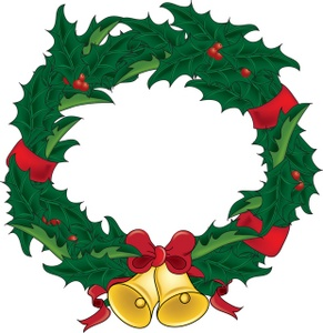 christmas clip art wreath clipart best