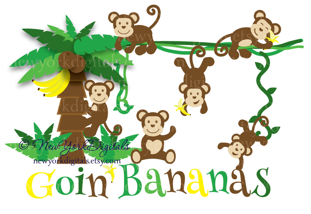 Monkeys In A Tree Clipart - ClipArt Best