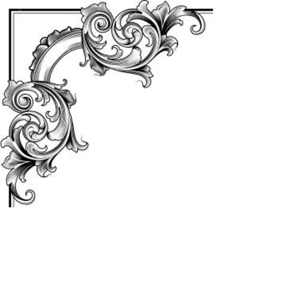 simple page border corner clipart best