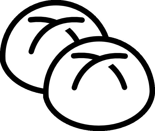 Bread Rolls Drawing White Bread Rolls Clip Art