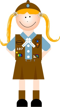 Brownie Girl Scout Clip Art - ClipArt Best