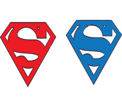 Superman Logo Vector Download for Free
